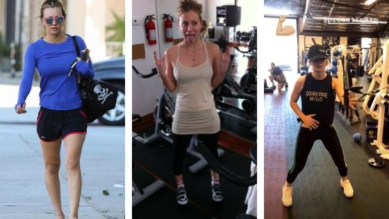 Kaley Cuoco Workout 2