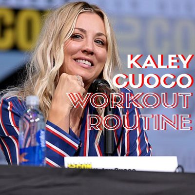 Kaley Cuoco Workout