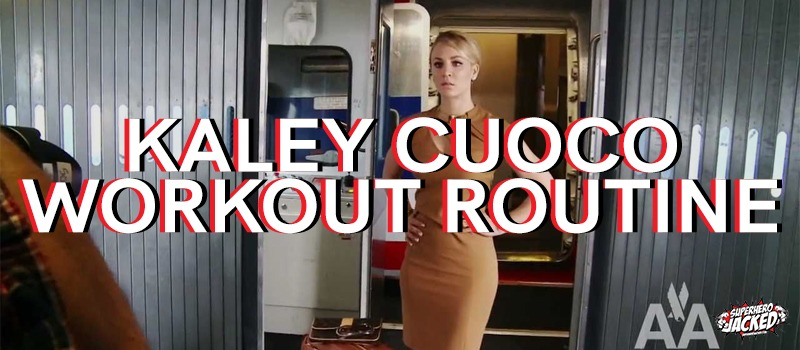 Kaley Cuoco Workout Routine