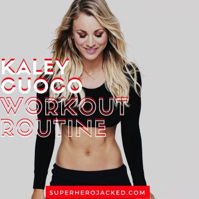 Kaley Cuoco Workout and Diet