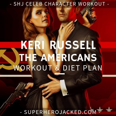 Keri Russell The Americans Workout and Diet
