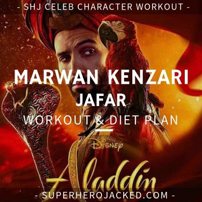 Marwan Kenzari Jafar Workout and Diet