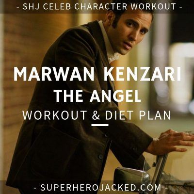 Marwan Kenzari The Angel Workout and Diet