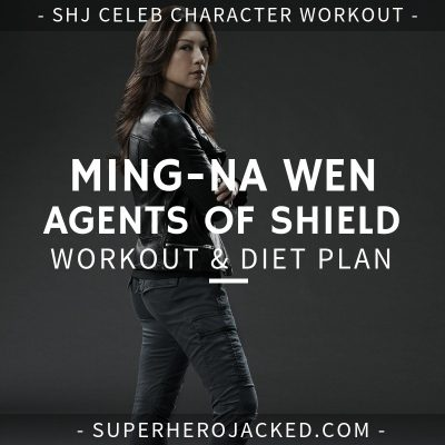 Ming-Na Wen Agents of SHIELD Workout and Diet