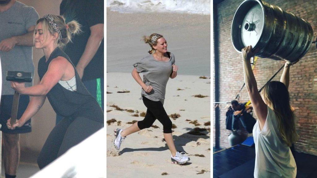 Hilary Duff Workout 3
