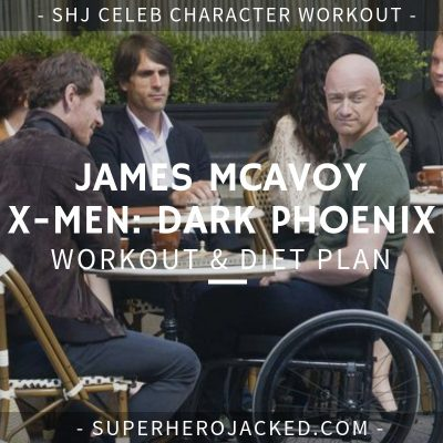 James McAvoy X-Men Dark Phoenix Workout and Diet