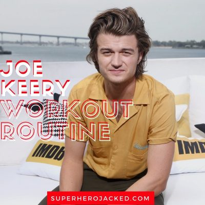 Joe Keery Workout and Diet