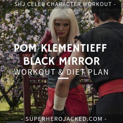Pom Klementieff Black Mirror Workout and Diet