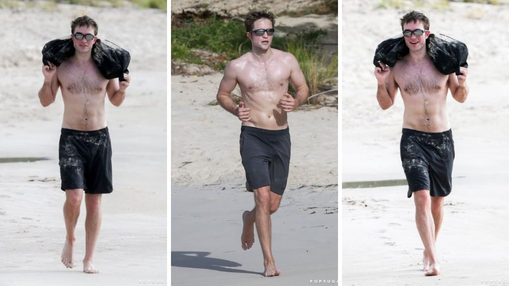 Robert Pattinson Workout 2