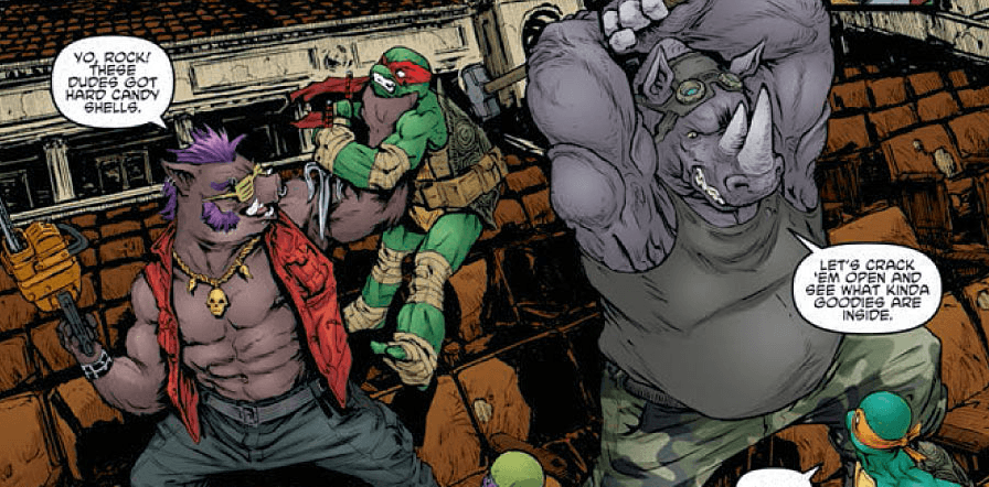 Bebop and Rocksteady Workout 3