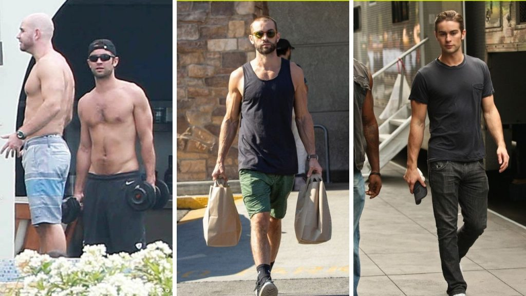 Chace Crawford Workout 2