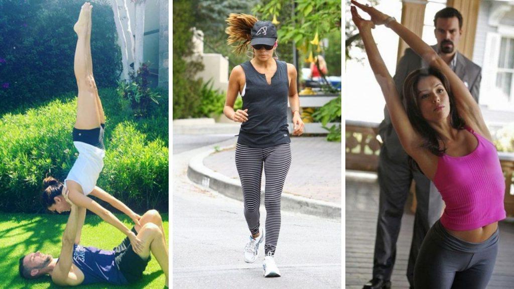 Eva Longoria Workout 2