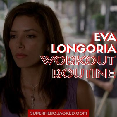 Eva Longoria Workout