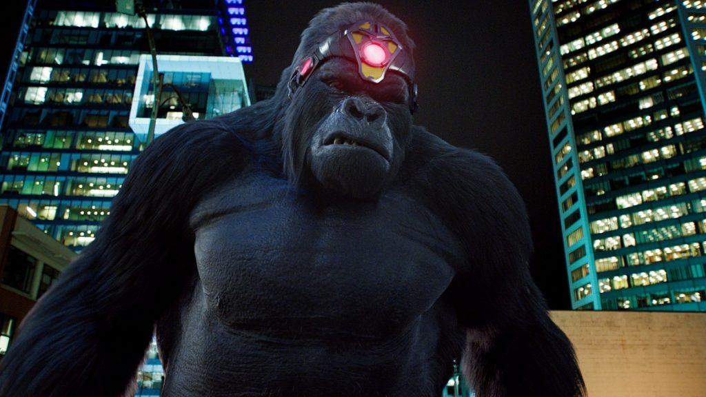 Gorilla Grodd Workout 1