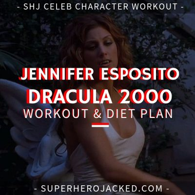 Jennifer Esposito Dracula 2000 Workout and Diet