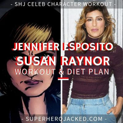 Jennifer Esposito Susan Raynor Workout and Diet