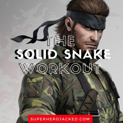 Solid Snake Workout and Diet