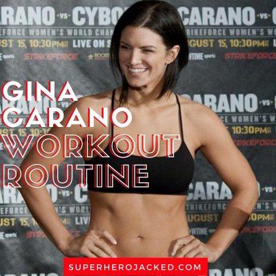 Gina Carano Workout Routine