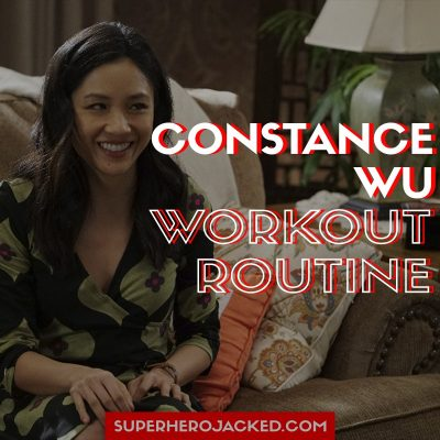 Constance Wu Workout