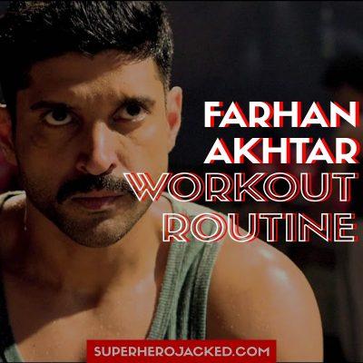 Farhan Akhtar Workout
