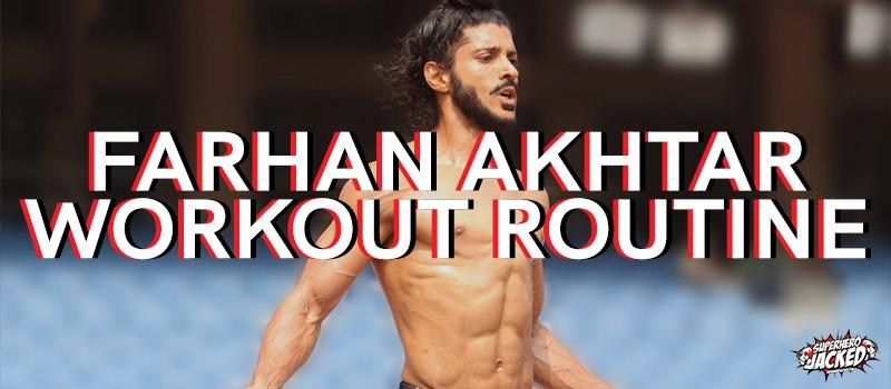 Farhan Akhtar Workout Routine