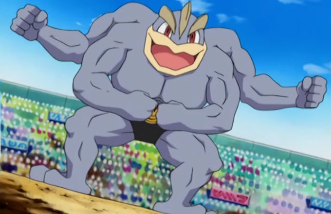 Machamp Workout 2