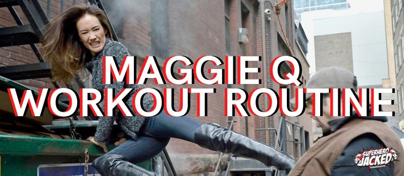 Maggie Q Workout