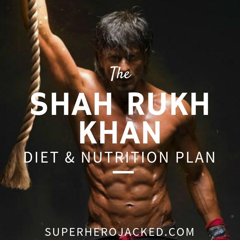 Shah Rukh Khan Diet and Nutrition