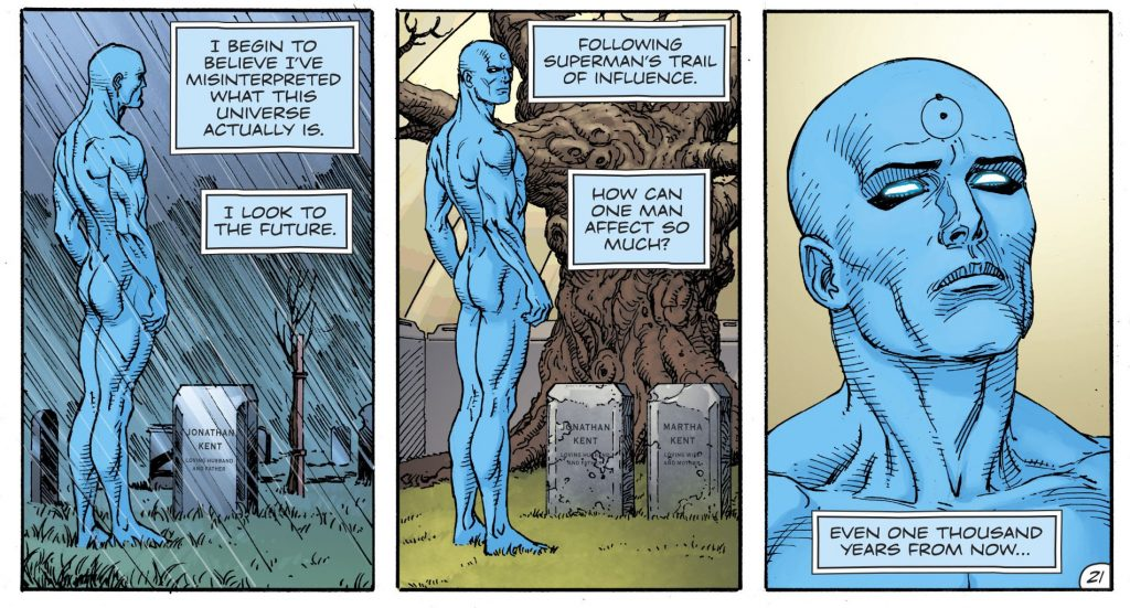 Doctor Manhattan Workout 2