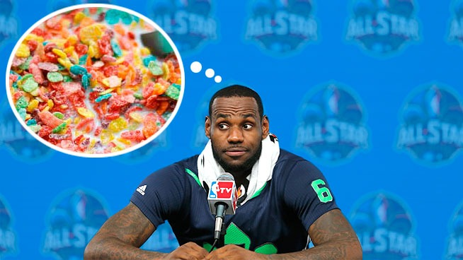 LeBron James Favorite Cheat Meal