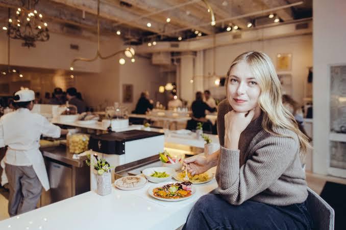 Maria Sharapova Cheat Meal