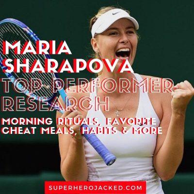 Maria Sharapova Top Performer Research