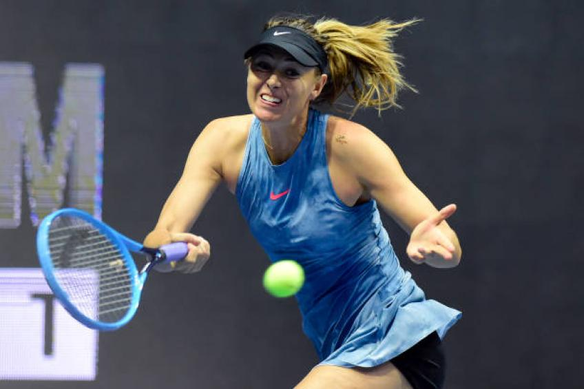 Maria Sharapova Workout 1