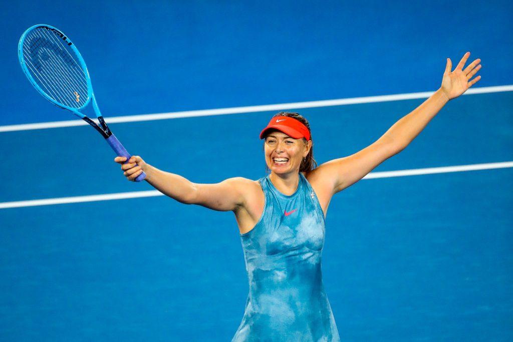 Maria Sharapova Workout 3