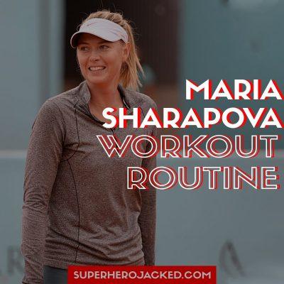 Maria Sharapova Workout