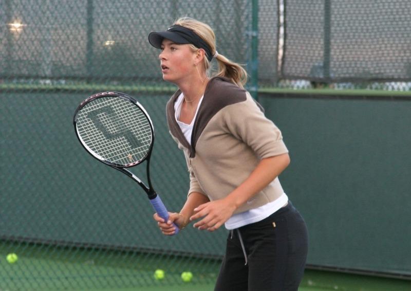 Maria Sharapova Workout Routine 1