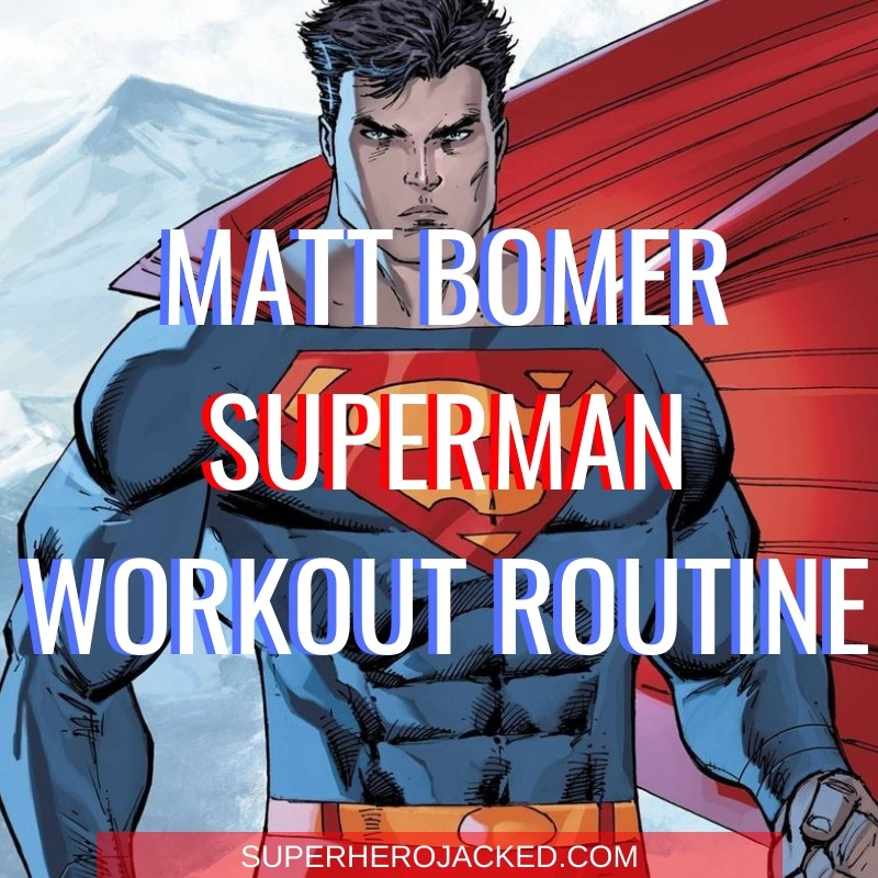 Matt Bomer Superman Workout