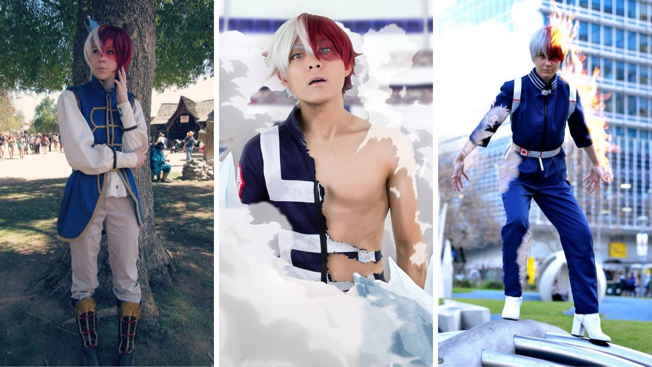 Shoto Todoroki Cosplay Guide Workout Superhero Jacked