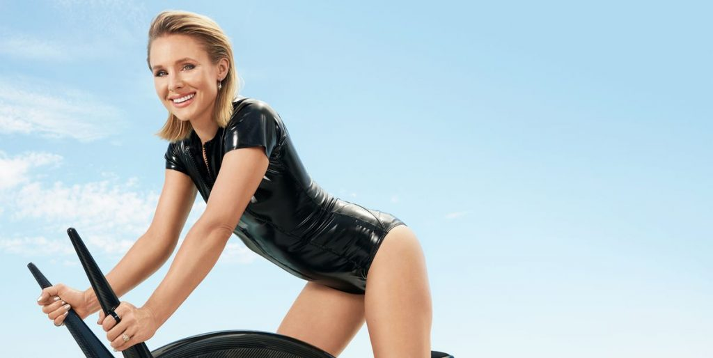 Kristen Bell Workout 1
