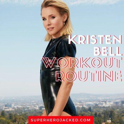 Kristen Bell Workout Routine