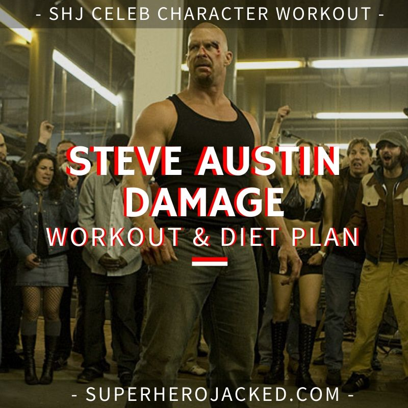 Steve Austin Damage Workout and Diet