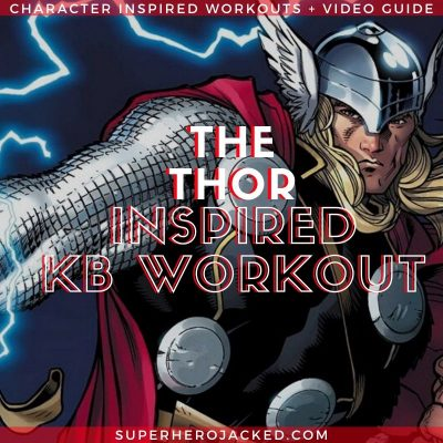 Thor Inspired Kettlebell Workout
