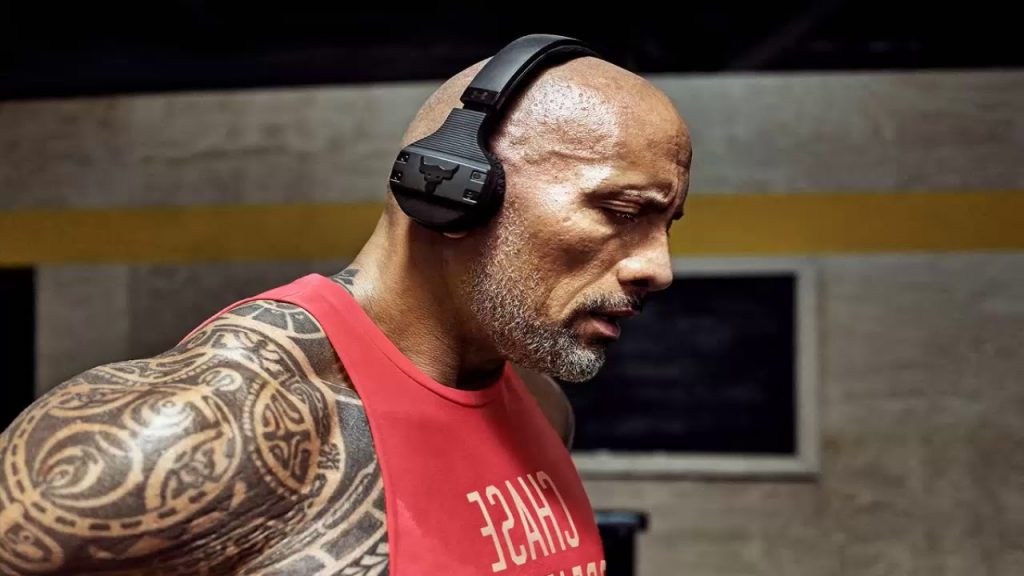 Dwayne Johnson Headphones