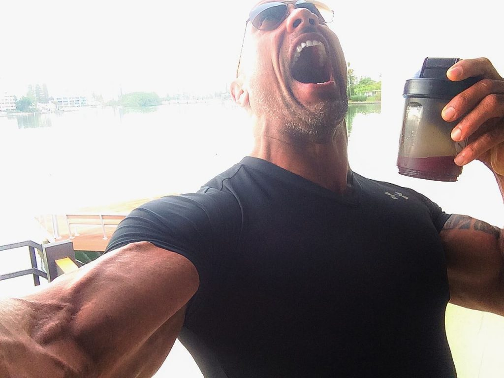Dwayne Johnson Pre-Workout