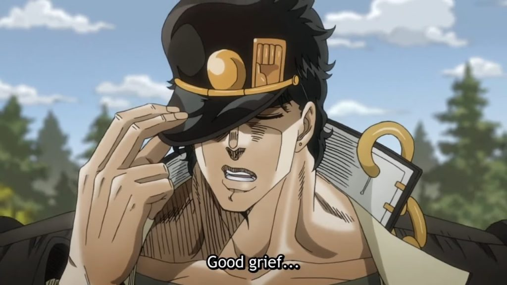 Jotaro Kujo Workout 3