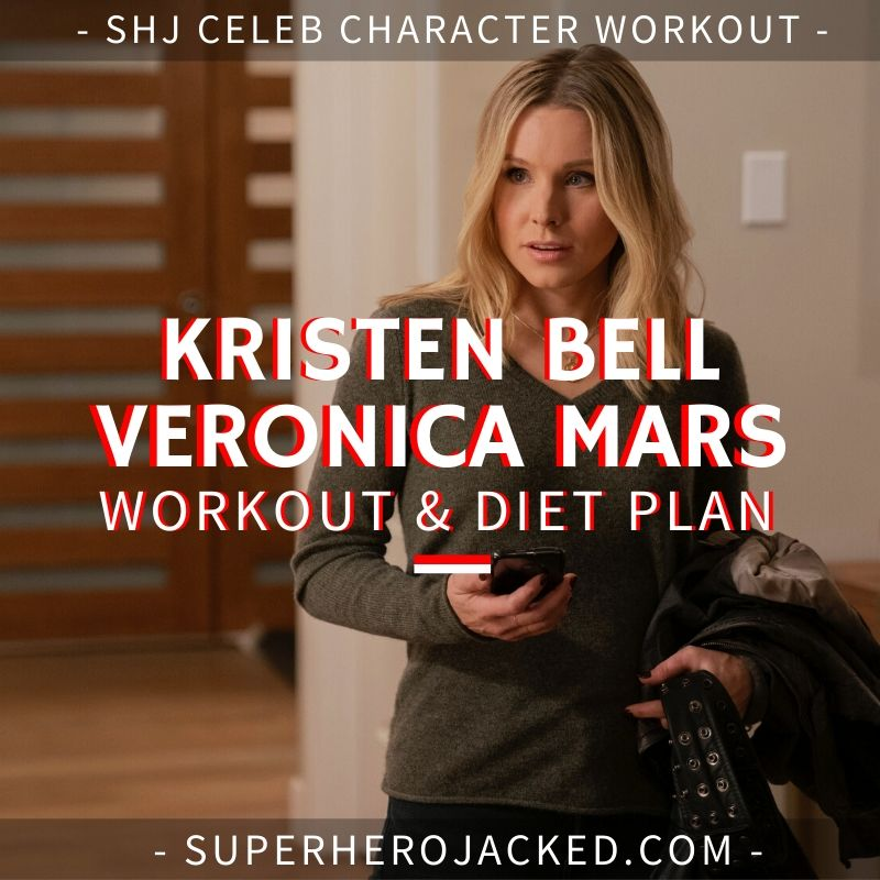 Kristen Bell Veronica Mars Workout and Diet