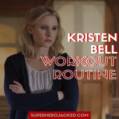 Kristen Bell Workout