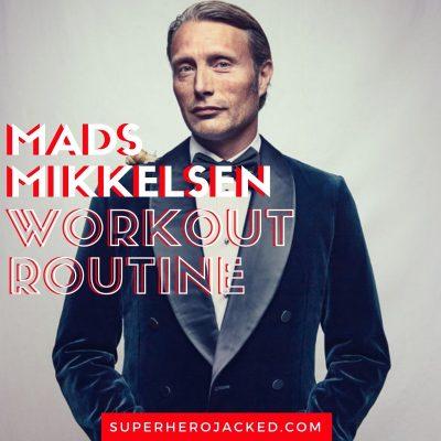 Mads Mikkelsen Workout