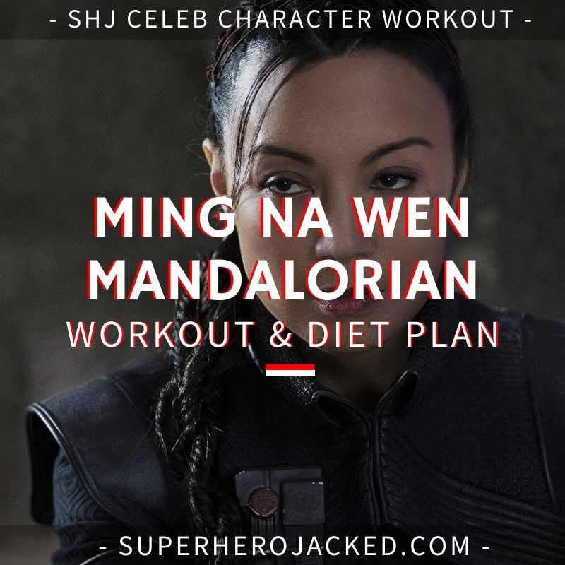 Ming Na Wen Mandalorian Workout and Diet