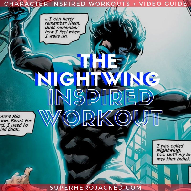 Nightwing Inspired Calisthenics Circuit Workout